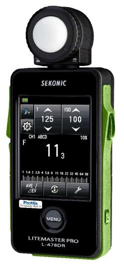 Sekonic LiteMaster Pro L-478DR-PX for Phottix