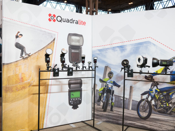 Quadralite at The Photography Show 2016