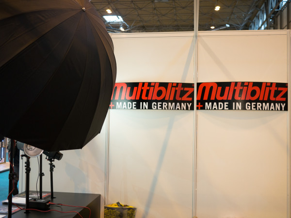 Multiblitz at The Photography Show 2016