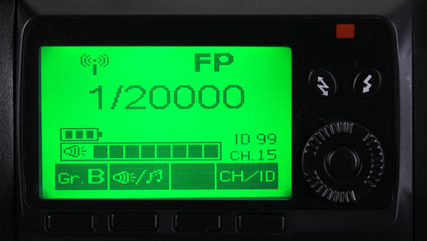 Nicefoto K8 TTL.M control panel