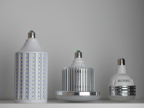 Comparison of LED photography bulbs