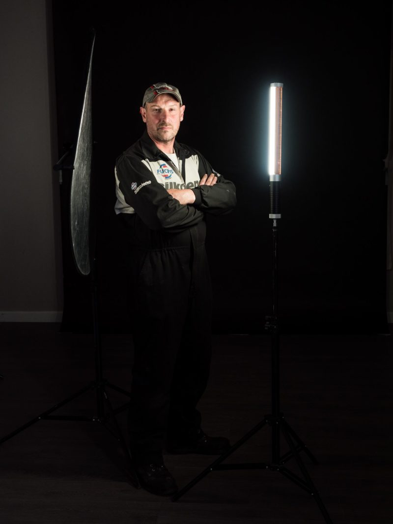 Behind the scenes photo for Magic Tube Light photo