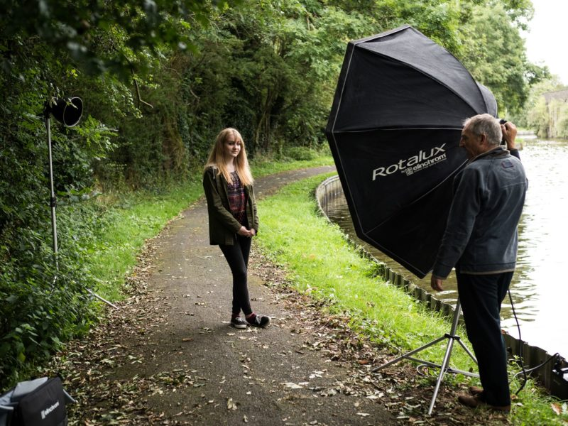 Photo with Elinchrom ELB1200. (Michael Sewell)