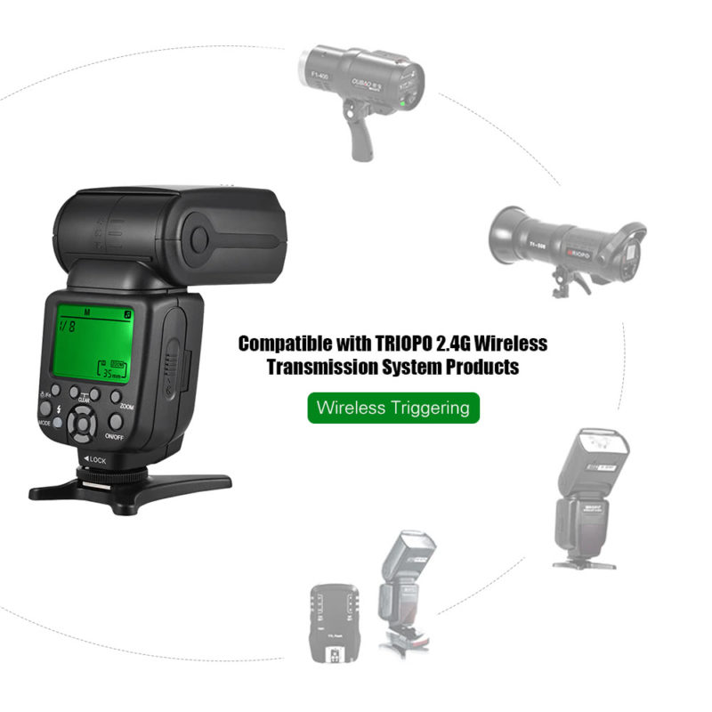 Triopo 2.4GHz wireless transmission system