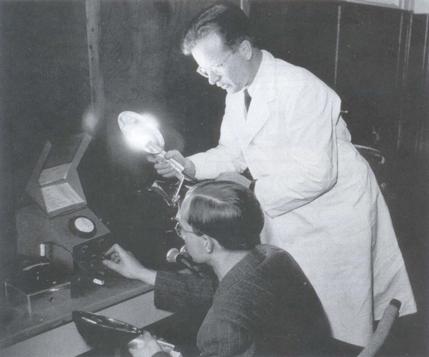 Multiblitz founder Dieter Mannesmann, circa 1952