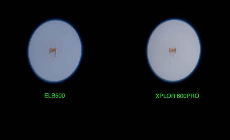 ELB 500 TTL versus Xplor 600 Pro