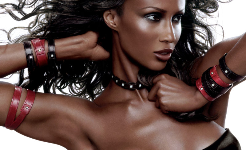 Supermodel Iman for DeBeers global campaign