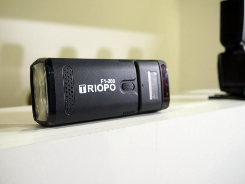 Triopo F1-200 at Photokina 2018