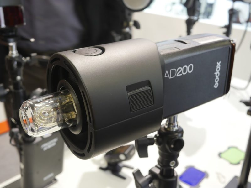 Godox AD200 Profoto adapter