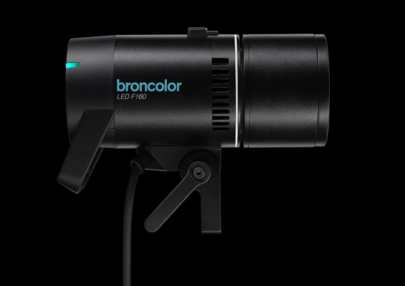 Broncolor F160 LED with Broncolor accessories