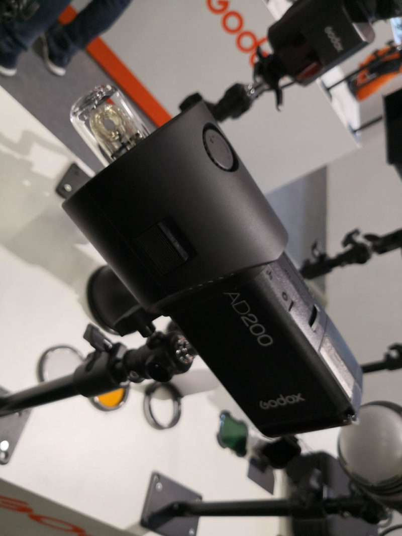 Profoto connector for Godox Witstro AD200
