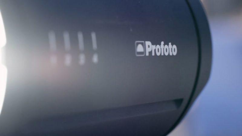 Profoto video teaser screengrab