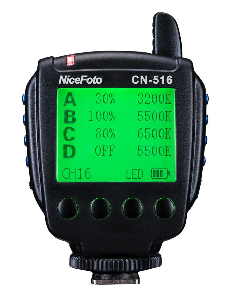 NiceFoto LED transmitter CN-516