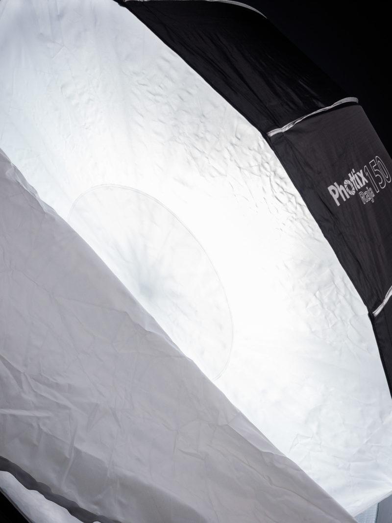Inner diffusion panel of the Phottix Raja 150cm Hexabox
