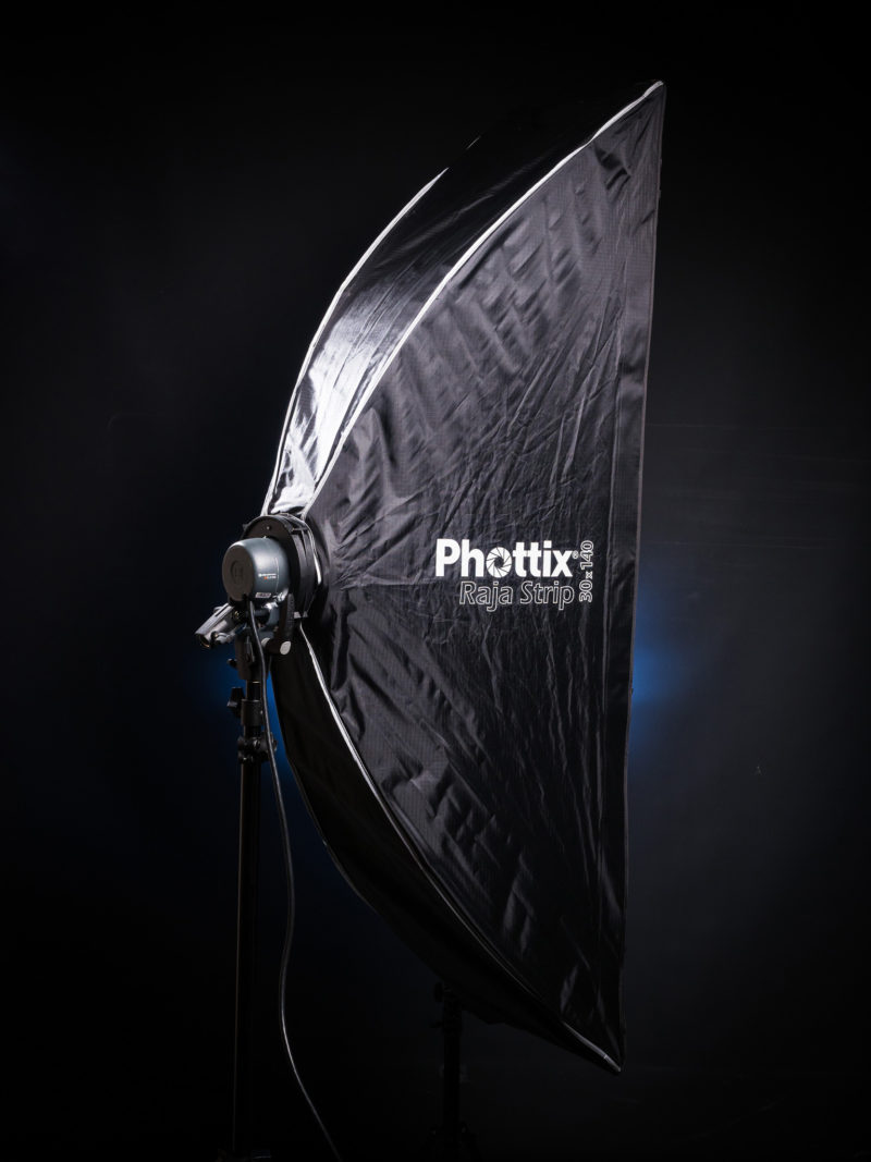 Phottix Raja 30×140cm quick-fold strip box