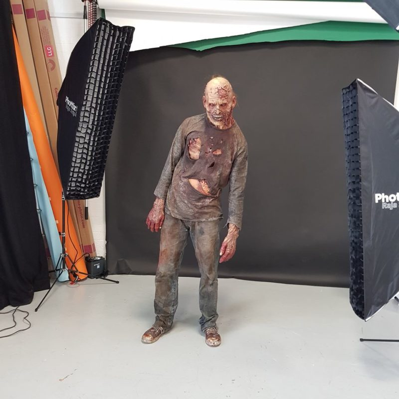 Behind the scenes of the zombie lighting example