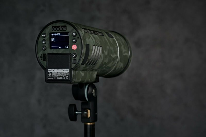 Camouflage skin for Godox AD300Pro