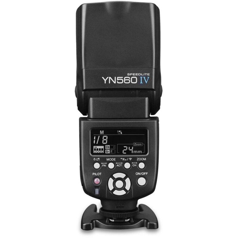 Yongnuo YN560IV with negative display
