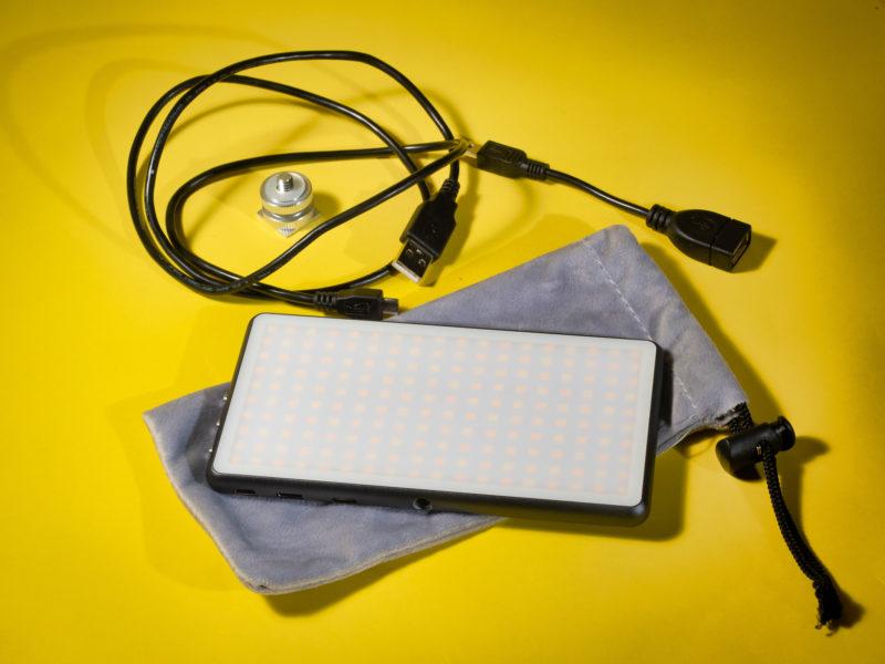 portable phottix led panel