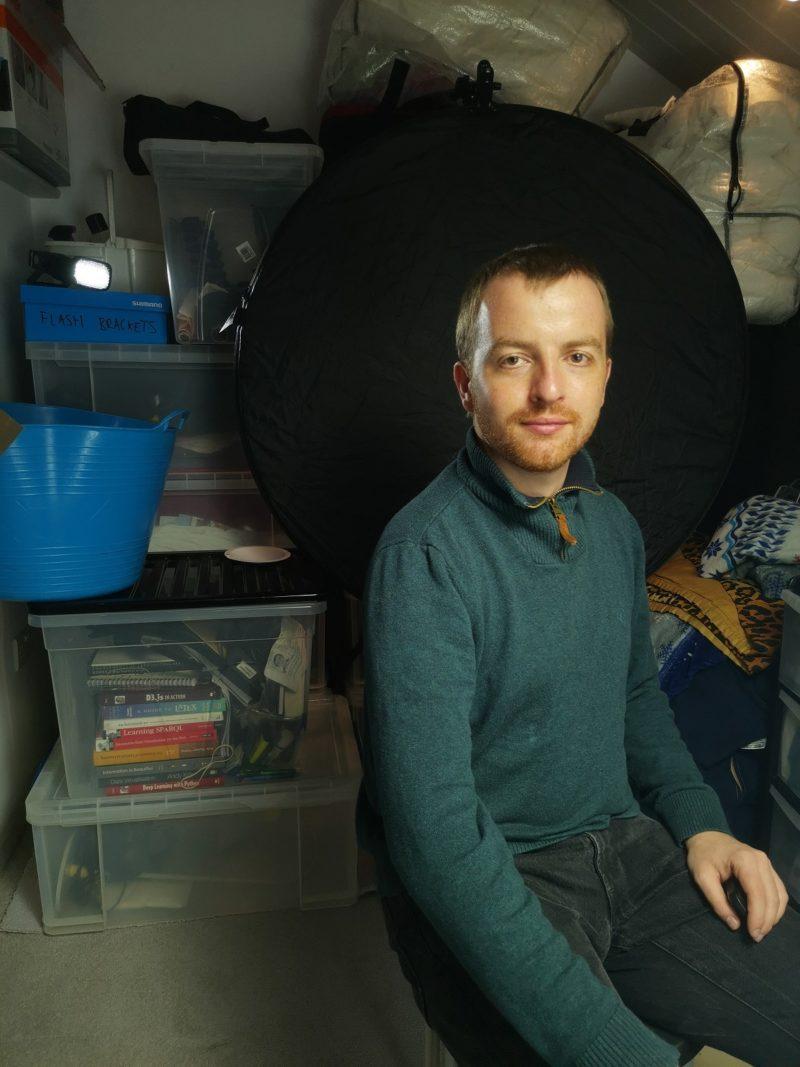 Self-portrait with Innovatronix CPFlash