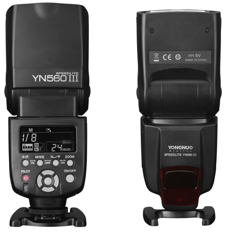 Yongnuo YN560III negative display