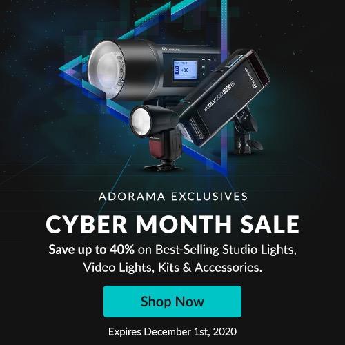 Adorama Flashpoint November 2020 sale